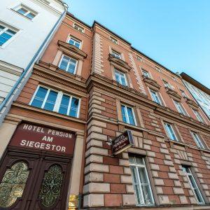 Hotel-Pension am Siegestor - Fassade