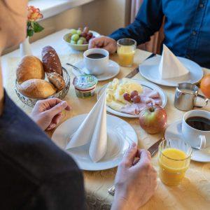 Hotel-Pension am Siegestor - Frühstück