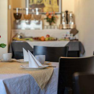 Hotel-Pension am Siegestor - Frühstücksraum